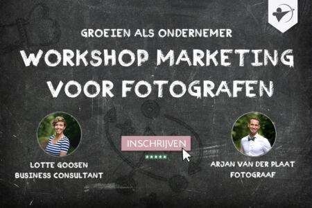 workshop marketing voor fotografen