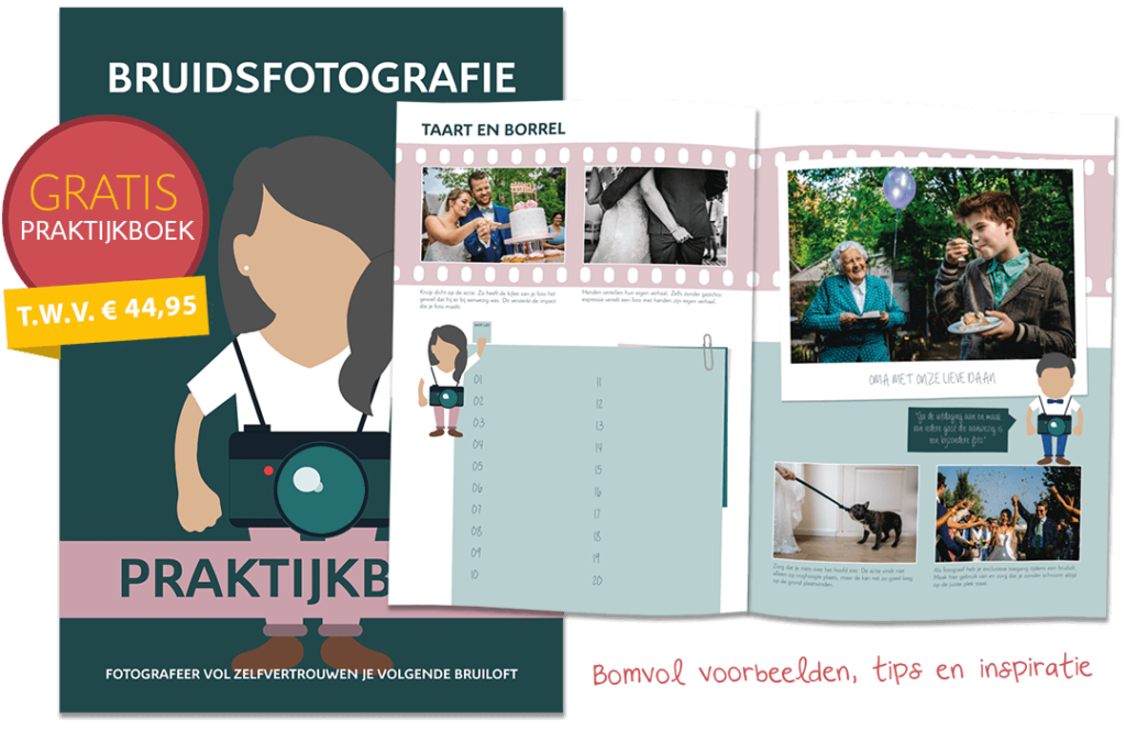 praktijkboek bruidsfotografie